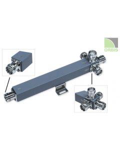 Power splitter 4-way 300W 698-2700 MHz  4.3-10F