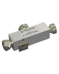 Tapper 6:1/8 dB 500W 350-5850 MHz 7/16F