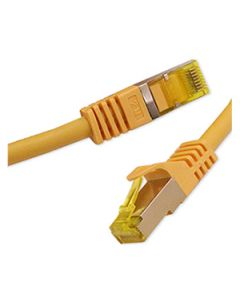 Patchcord Orbis Vaski Cat6A RJ45 S/FTP Yellow 1m - 15m