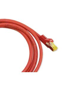 Patchcord Orbis Vaski Cat6A RJ45 S/FTP Red 1m - 15m