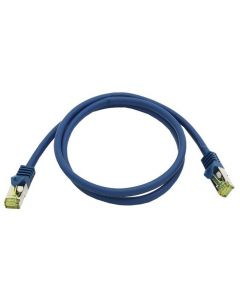 Patchcord Orbis Vaski Cat6A RJ45 S/FTP Blue 1m - 15m