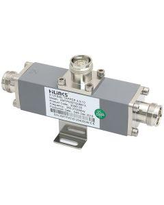 Tapper 3:1/4.8 dB 300W 350-2700 MHz 4.3-10F