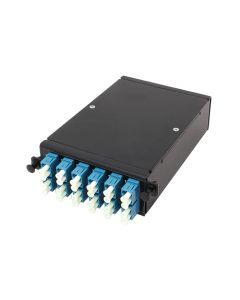Module A 2xMPO12-12xLC DPX OS2 key u/d