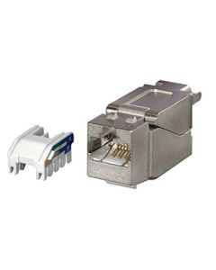 RJ45 Cat6A FTP Metall jack
