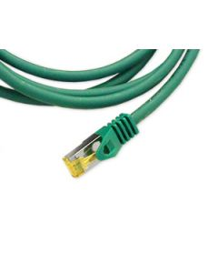 Patchcord Orbis Vaski Cat6A RJ45 S/FTP Green 2m - 15m