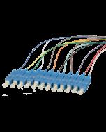Pigtail SC UPC OS2 2m 12pcs, colors
