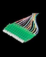 Pigtail LC APC 2m 12pcs, colors
