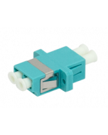 Adapter LC OM3 DPX AQU 25pc