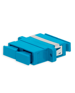 Adapter SC UPC DPX BLU 20pc