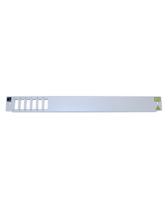 Front plate 1U SC 6 DPX